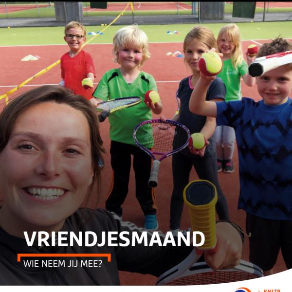 Vriendjesdag tennis in De Wijk