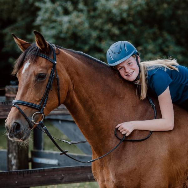 Paardencoach clinic met kinderen