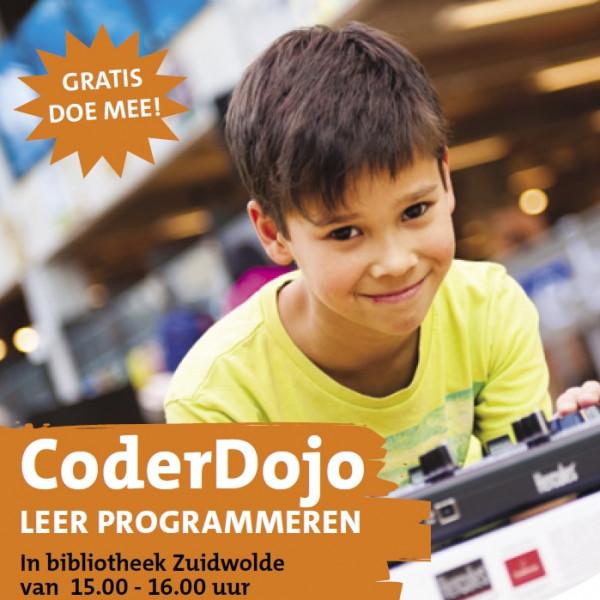 CoderDojo: leer programmeren (Bibl. Zuidwolde)